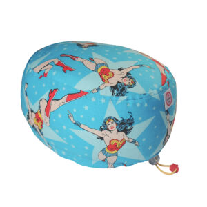 Cuffia Chirurgica Wonder Woman stelle su base turchese