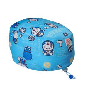 Cuffietta chirurgica in polycotton Doraemon