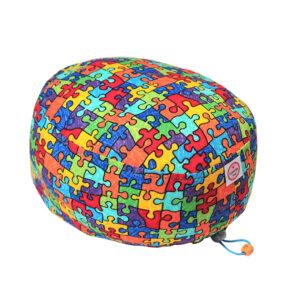 Cuffia chirurgica Puzzle multicolor full