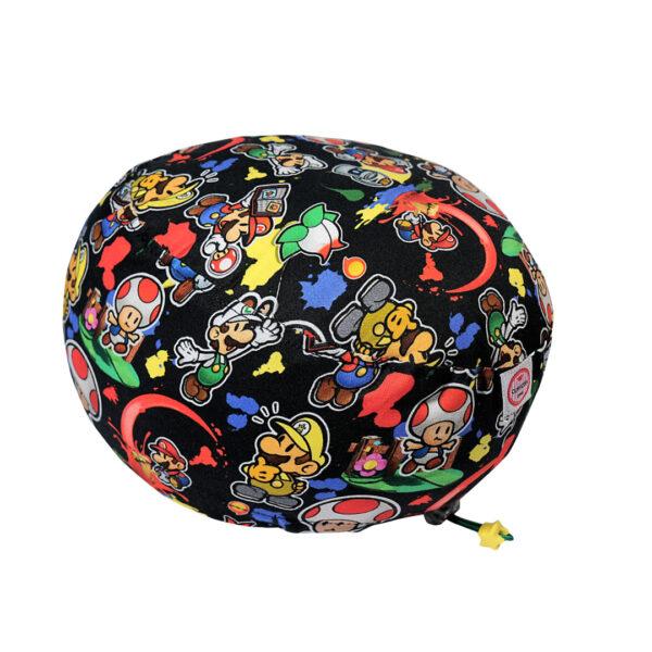Cuffia chirurgica Super Mario personaggi su nero