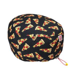 Cuffia chirurgica Fette di Pizza su nero