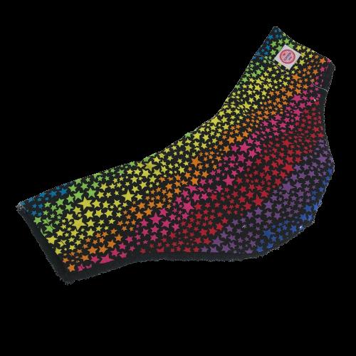 Copricollare modello B Stelline multicolor by Cuffiosa