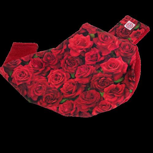 Copricollare RX Tiroideo Modello Z by Cuffiosa Rose rosse