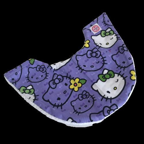 Copricollare RX Tiroideo Modello N by Cuffiosa Hello Kitty lavanda