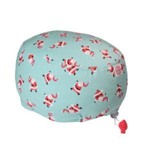 Cuffia chirurgica in cotone Babbo Natale mini